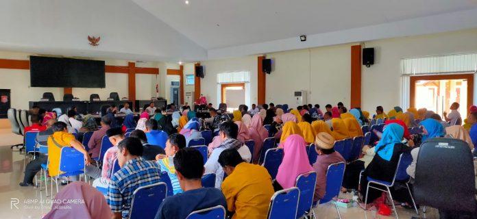 Dewan Perwakilan Rakyat Daerah (DPRD) Bone Bolango dari Komisi 3, hari Sabtu kemarin (08/02/2020) menggelar rapat