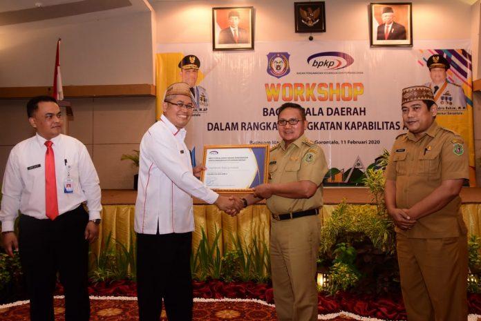 APIP Kota Gorontalo Ada Pada Level 3, Walikota Marten Taha, Bilang Begini