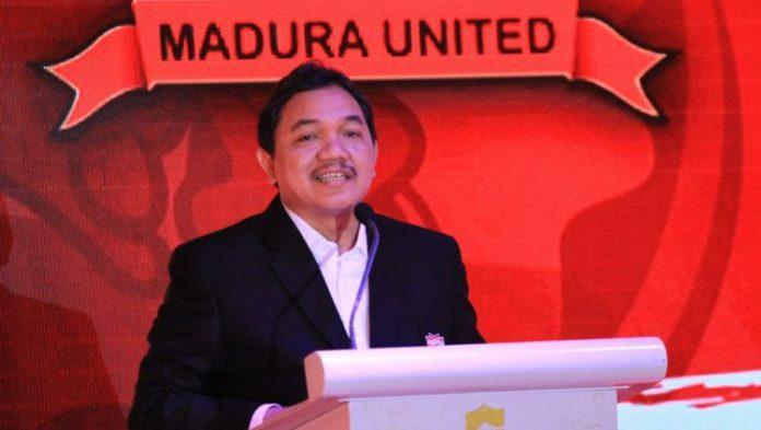 Terhenti Karena Pandemi Covid-19, Madura United Melakukan Konsolidasi