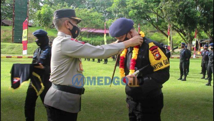 Kapolda Gorontalo sambut Personel Brimod BKO
