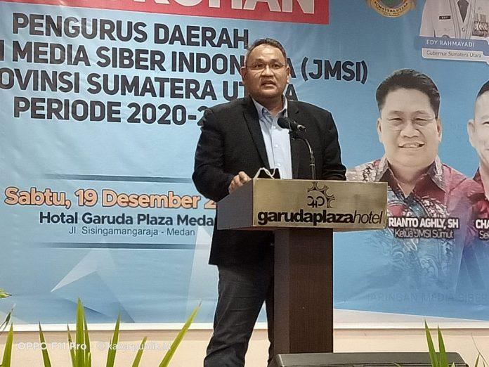 Ketum JMSI Teguh Santosa Menilai Maklumat Kapolri Pelarangan FPI Berpotensi Mengekang Kebebasan Pers