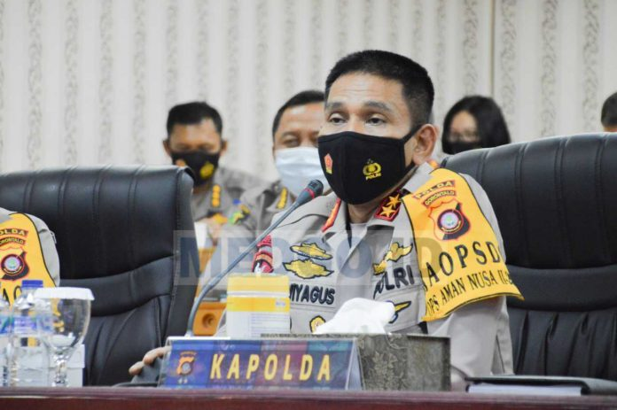 Cegah Penularan Covid-19, Kapolda Gorontalo Perintahkan Jajaran Kapolres Maksimalkan Operasionalisasi Kampung Tangguh