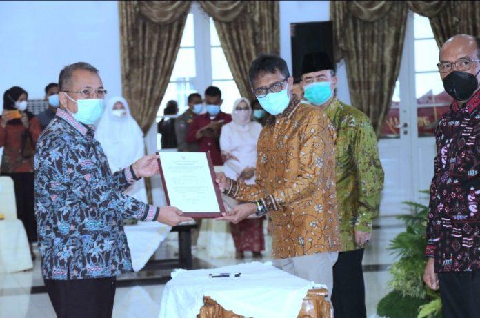 Jabatan Gubernur Sumbar Dr Irwan Prayitno Berakhir, Ini Plh nya !