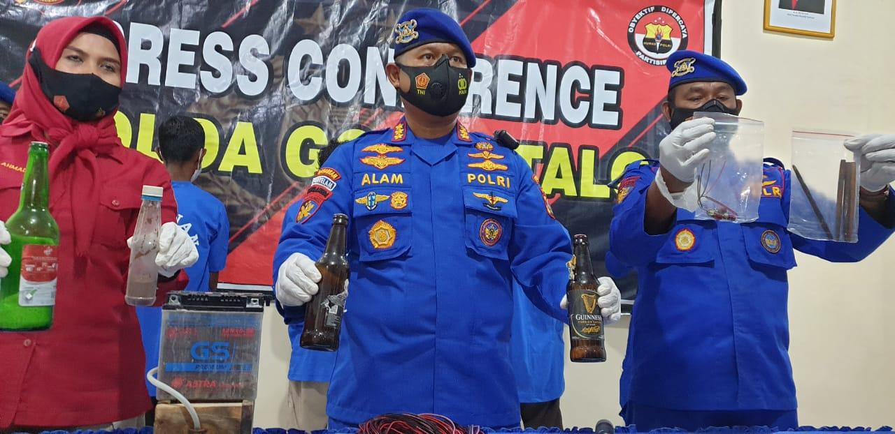 Tiga Pelaku Bom Ikan Gorontalo Ditetapkan sebagai Tersangka