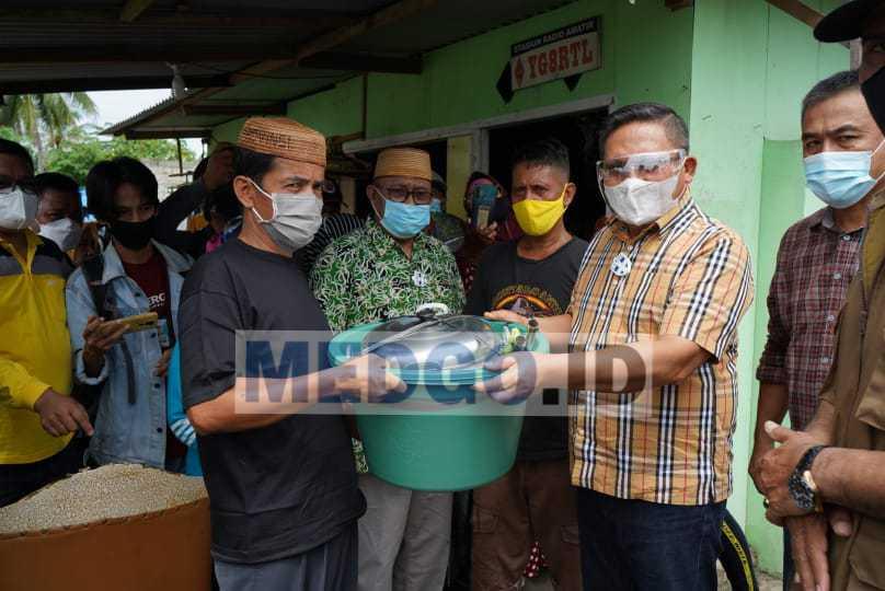 Walikota Gorontalo Akan Membangun Kembali Rumah Korban kebakaran
