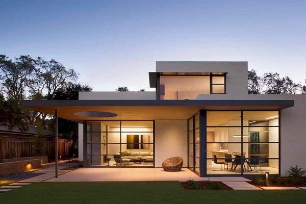 Rumah Hunian Minimalis dengan Desain Sederhana Tapi Terlihat Mewah