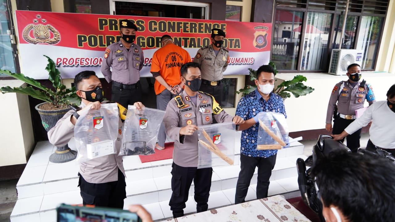 Pelaku Pembunuhan Kos Archy Kota Gorontalo Berhasil Diringkus Polisi2