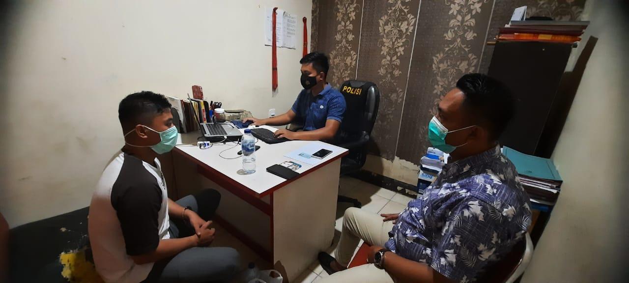Pelaku Pembunuhan Kos Archy Kota Gorontalo saat Bersama Pengacara