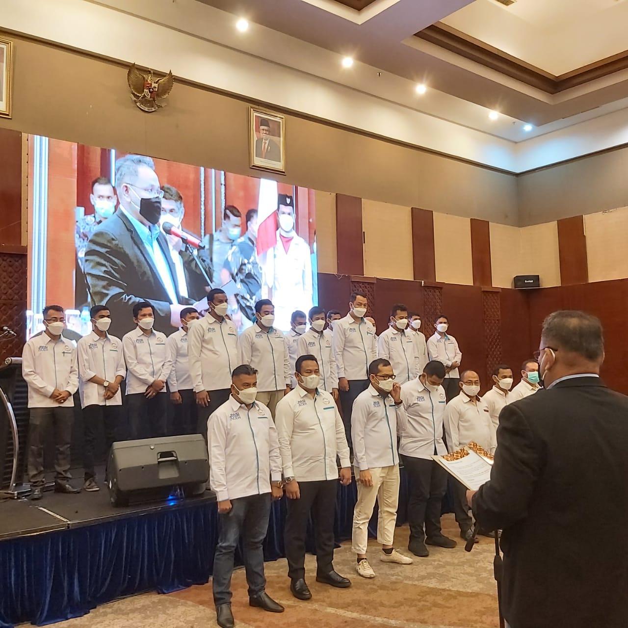 Pelantikan JMSI Aceh oleh Ketua Umum JMSI Teguh Santosa
