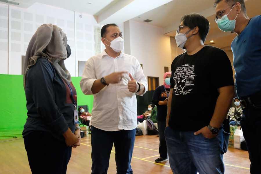 Pemkot Surabaya Menggelar Donor Plasma Darah Konvalesen