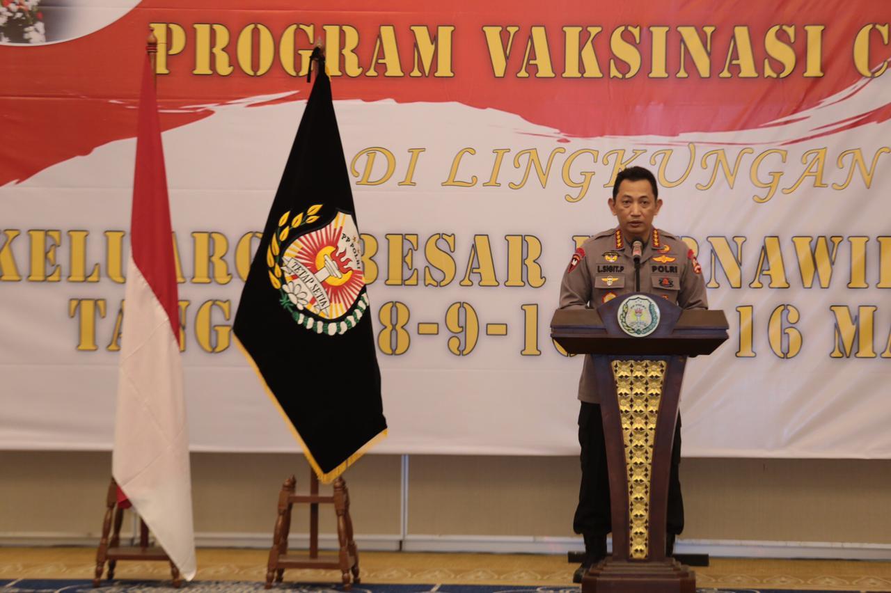 Program Vaksinasi Purnawirawan Polri