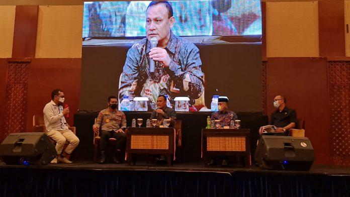 Saat Menghadiri Pelantikan JMSI Aceh. Ketua KPK Media Berjasa Mencerdasakan Bangsa