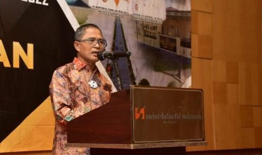 Sekertaris Kota Gorontalo Ismail Madjid