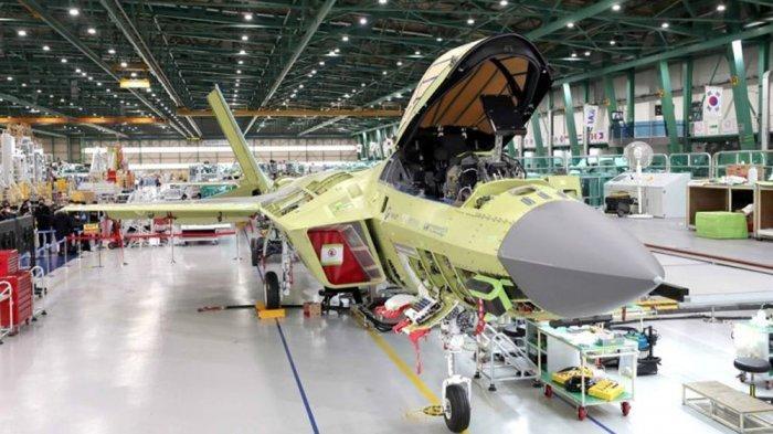 Pabrik Pesawat Tempur Jet K-FX dan Jet I-FX Buatan Korea selatan