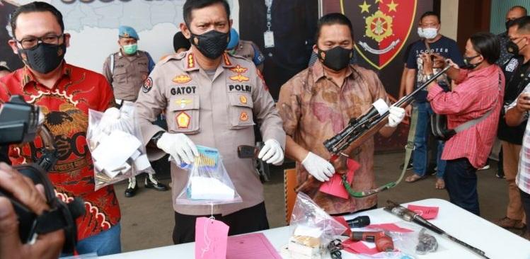 Perakit Senpi Ilegal Malang Ditangkap Polisi, Terancam 20 Tahun Penjara