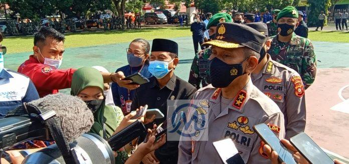 Kapolda Gorontalo Kerahkan Ratusan Personil Pengamanan Tempat Ibadah Perayaan Jumat Agung dan Paskah
