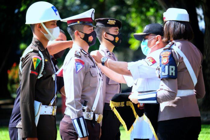 Gubernur Gorontalo Pimpin Apel Gelar Pasukan Operasi Ketupat Otanaha 2021