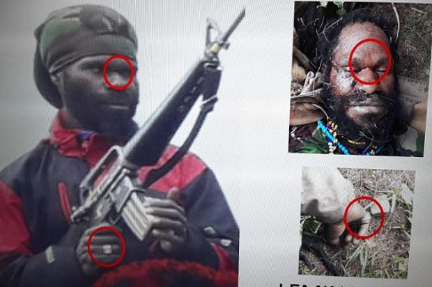 Pasukan TNI POLRI Berhasil Menembak Komandan Teroris KKB
