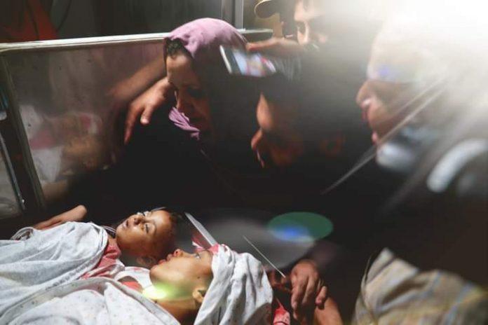 Serangan Israel Ke Gaza Palestina , 26 Korban Jiwa Sebagian anak-anak