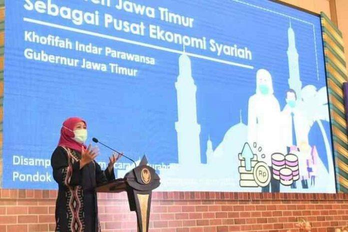 Gubernur Jawa Timur Khofifah Positif Covid