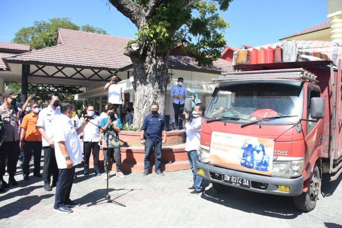14.653 Keluarga di Kota Gorontalo Dapat Bantuan terdampak PPKM