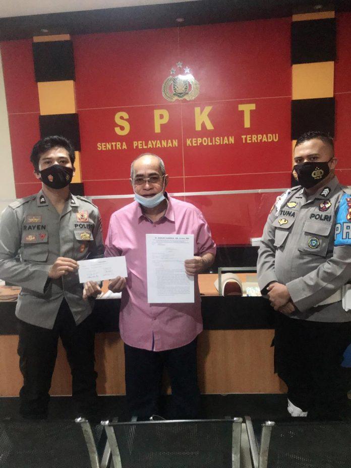 Adhan Dambea adukan Ishak Liputo dan Suslianto, Terkait Beredarnya Rekaman Ilegal