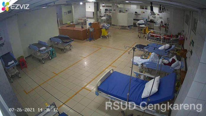Kondisi Rumah Sakit Rujukan Pasien Covid di DKI Jakarta RSUD Cengkareng