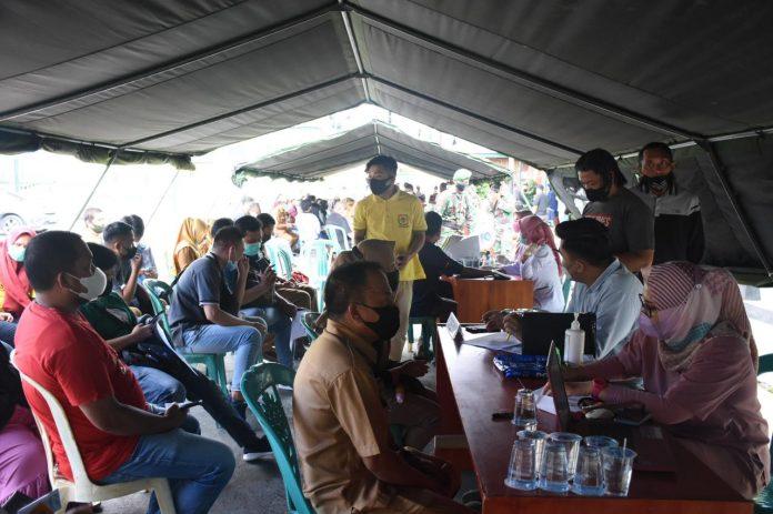 Kota Gorontalo Masuk Daerah Tertinggi Nasional Lakukan Vaksinasi