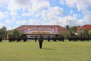 Siswa Diktuba Bintara Polri SPN Gorontalo