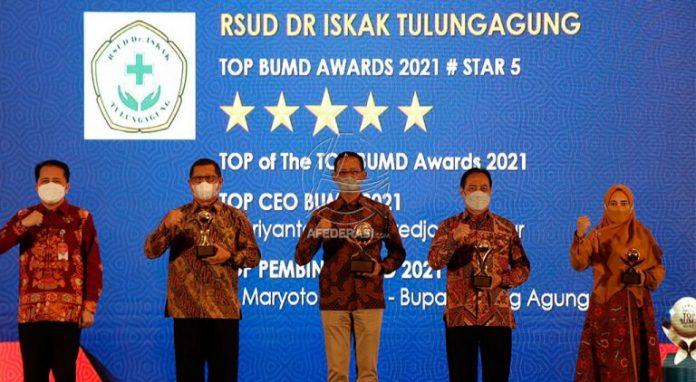 Direktur RSUD dr Iskak Tulungagung